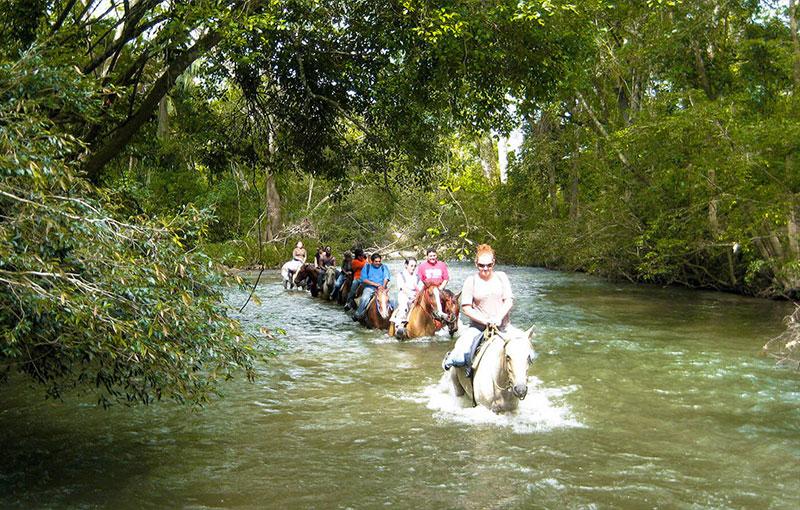 Belize Tours - Horseback