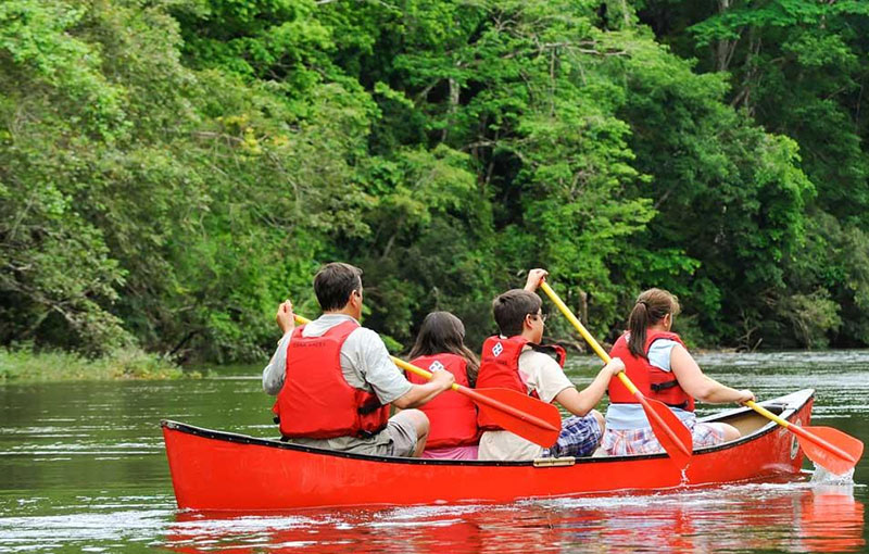 Belize Tours - Canoeing